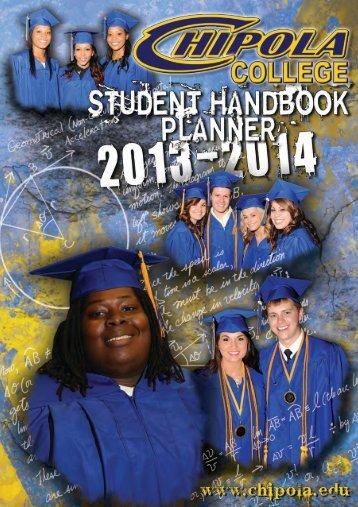Student Handbook - Chipola College