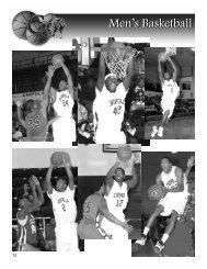 Men's Basketball (885Kb - *.PDF) - Chipola College