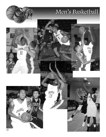 Men's Basketball (1.6MB - *.PDF) - Chipola College