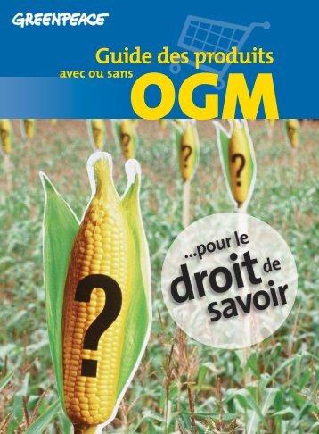 télécharger la version PDF - Le Guide des produits avec ou sans ...