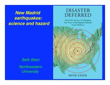 New Madrid earthquakes - Northwestern University