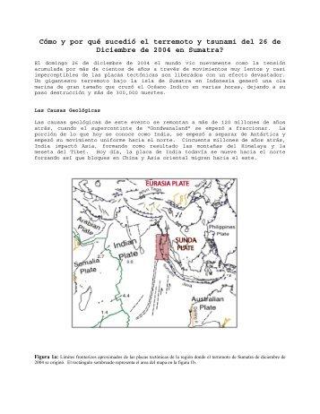 Cómo y por qué sucedió el terremoto y tsunami del 26 de Diciembre ...