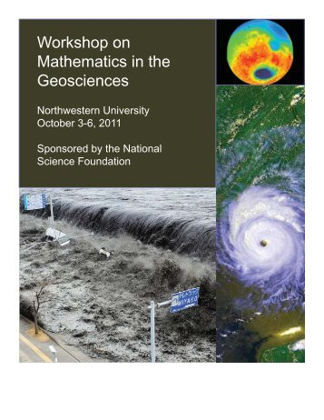 Workshop on Mathematics in the Geosciences - Department of Earth ...
