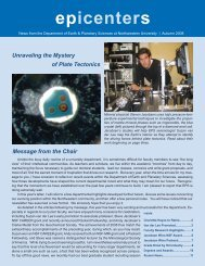 epicenters - Department of Earth and Planetary Sciences ...