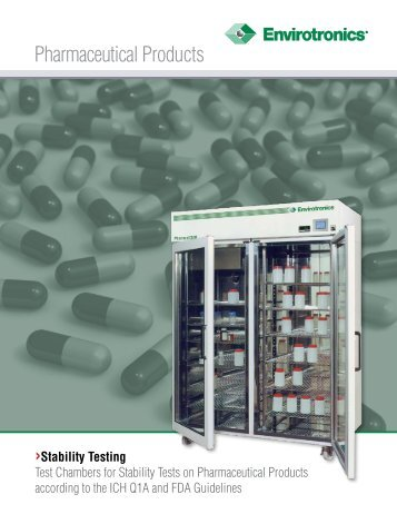 Pharmaceutical Products - Envirotronics