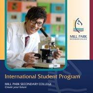 International Brochure - English - Mill Park Secondary College