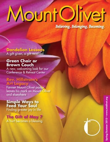 MO Mag Spring-Summer Lo-Res D2 - Mount Olivet Lutheran Church