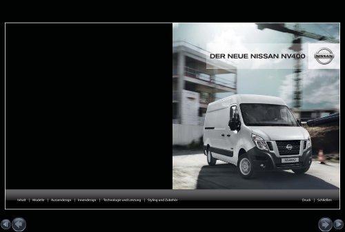 Techn. Daten NV400 Kastenwagen herunterladen - Nissan