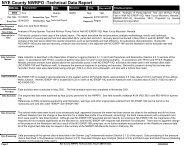 NYE County NWRPO -Technical Data Report