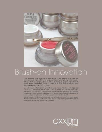 Brush-on Innovation - OPI