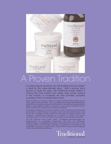 A Proven Tradition - OPI