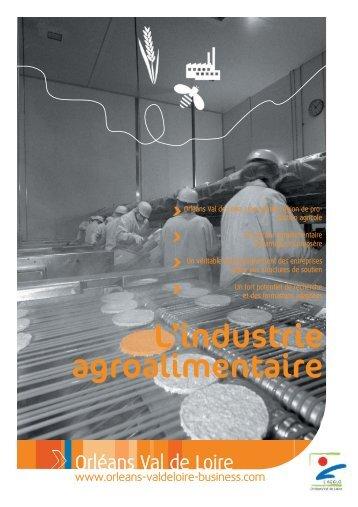 L'industrie agroalimentaire - Orléans Val de Loire Business