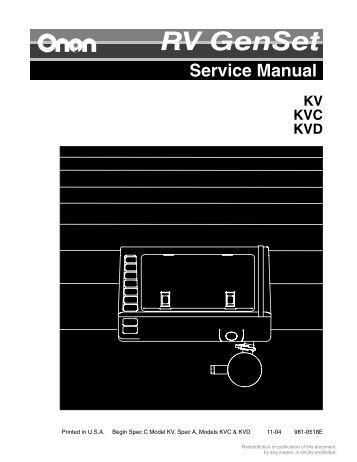 p216 p218 p220 p224 performer series cummins onan service manual cummins onan