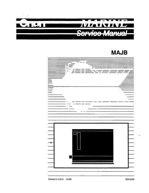 MAJB - mins Onan Majb Onan Genset Wiring Diagram on