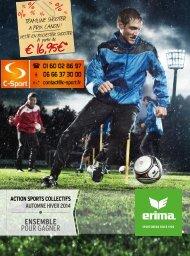 Erima : Promo Hiver 2014 : C-Sport.fr