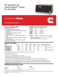 RV Trailer CUMMINS NW Use With Cummins Onan Generators Generator Exhaust Pipe 29