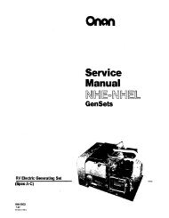 Service Manual - Cummins Onan