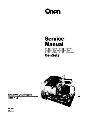 onan jc manual ebook Onan Em Gen Wiring Schematic on