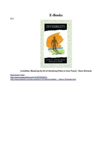 E-Books - D Ank Unlimited