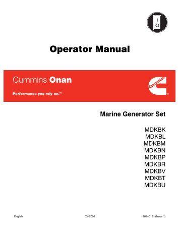 Onan Mdkd Manual
