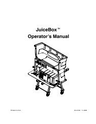 JuiceBoxt Operator's Manual - Cummins Onan