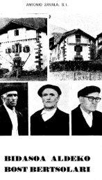 Bidasoa aldeko bost bertsolari - Euskaltzaindia