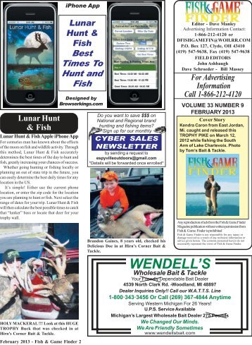 February 13 2-25 - Fish and Game Finder Magazine