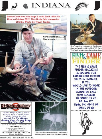 January 13 26-48 - Fish and Game Finder Magazine
