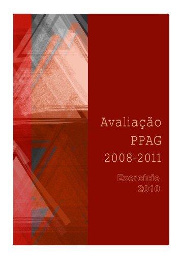 Relatório anual de avaliação – exercício 2010 - Secretaria de ...
