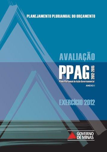 Relatório anual de avaliação – exercício 2012 - anexo I