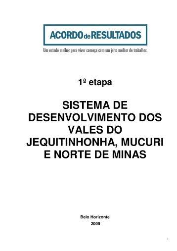 Documento na íntegra - Secretaria de Estado de Planejamento e ...