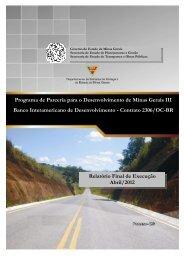 Relatório Final BID III - Secretaria de Estado de Planejamento e ...