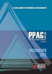 ORÇAMENTO 2012 - Secretaria de Estado de Planejamento e ...