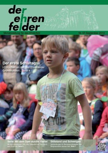 Der Ehrenfelder 57 - September 2014