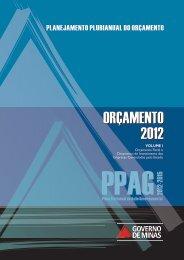 Orçamento Fiscal e Orçamento de Investimento - Secretaria de ...