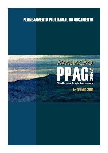 Relatório anual de avaliação - Secretaria de Estado de ...