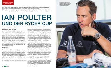 Interview mit Ian Poulter