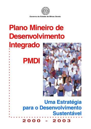 Plano Mineiro de Desenvolvimento Integrado - PMDI, 2000 - 2003