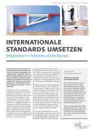 Erfolgsfaktoren in Tschechien und der Slowakei - ROI Management ...