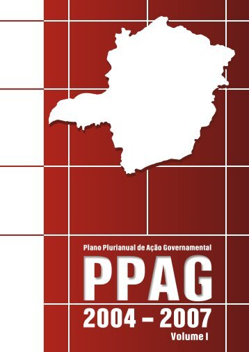 PPAG 2004 – 2007 Volume I - Secretaria de Estado de ...