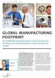 Der Global Manufacturing Footprint von HOERBIGER ...