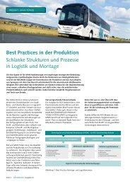 best practices in der produktion