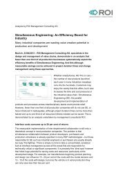 Simultaneous Engineering: An Efficiency Boost for Industry - ROI ...