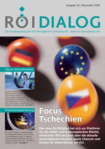Focus Tschechien Focus Tschechien - ROI Management Consulting ...