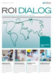 Dialog Ausgabe 38 - ROI Management Consulting AG