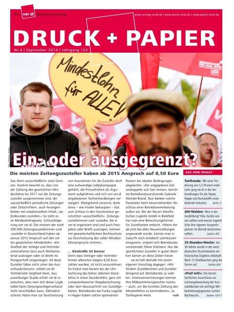 DRUCK+PAPIER 4/2014