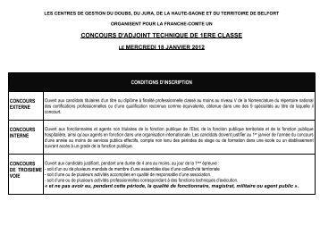 Concours de contr leur interne des imp ts 1ere classe www11 - Grille indiciaire adjoint technique 1ere classe ...