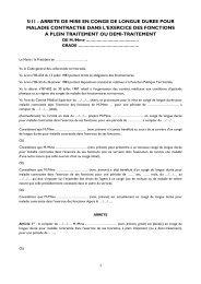 5 Arrêté de mise en congé de longue durée pour maladie ... - CDG90