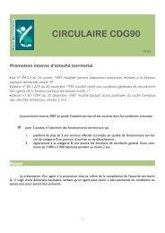 Promotion Interne 2011 Des Changements Cdg38