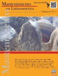 Mantenimiento en Latinoamérica Vol 6 N°5